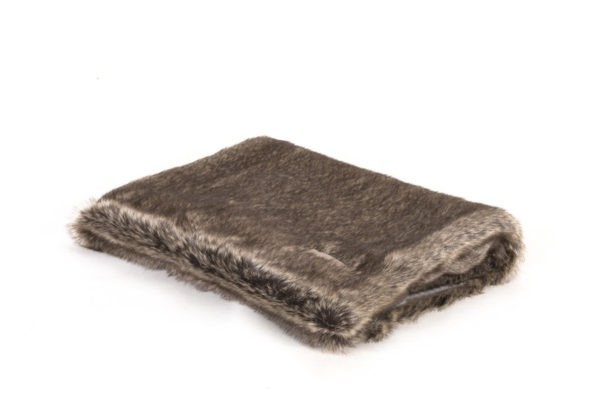 Koc EXCLUSIVE Blanket Beige/Fur