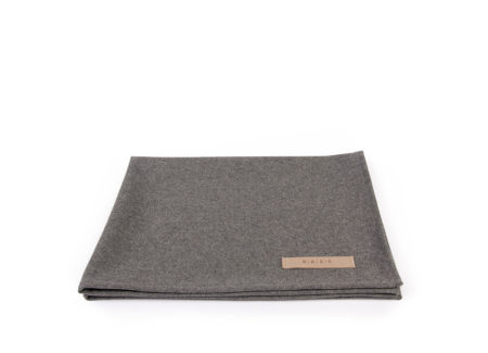 Wełniany koc NATURE Grey Wool